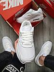 Мужские кроссовки Nike Air Max 90 (белые) 402PL, фото 3