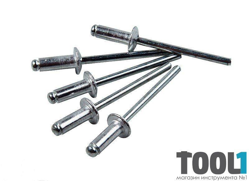 Слепые заклепки алюминиевые 4.8х30 мм (50 шт.) MASTERTOOL 20-0610