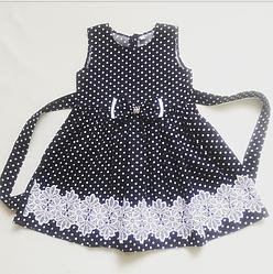Дитяче плаття Горошок