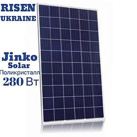 Сонячна батарея (полікристал), 280W, 24V,  Jinko Solar JKM280P