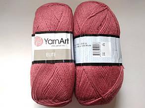 Пряжа Элит (Elite) Yarn Art, цвет сухая роза 219