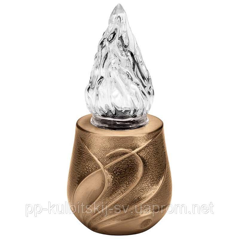 Лампадка бронзова L9421 \20