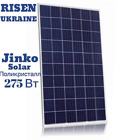 Сонячна батарея (полікристал), 275W, 24V, Jinco Solar JKM275P-60