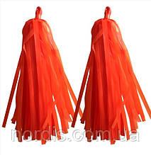 Кисточки тассел оранжевого цвета, 2 шт.(полипропилен)