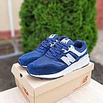 Мужские кроссовки New Balance 997 (синие) 10155, фото 3