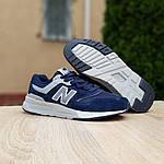 Мужские кроссовки New Balance 997 (синие) 10155, фото 8