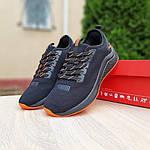 Жіночі літні кросівки Puma (чорно-помаранчеві) 20114, фото 7