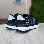 Чоловічі кросівки Adidas Nite Jogger (чорно-білі) 10160, фото 2