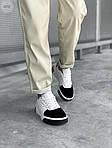 Женские кожаные кроссовки Puma Cali (бело-черные) 407GL, фото 6