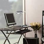 Светодиодный настольный светильник Feron DE1731 8W 3000K-4000K-6000K Серебро, фото 7