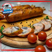 Рыбная колбаса горячего копчения