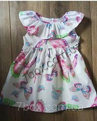 Плаття дитячі ЛІТНІ оптом (Бавовна)