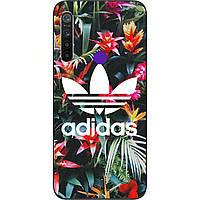 Силиконовый чехол для Realme 5 с картинкой Adidas
