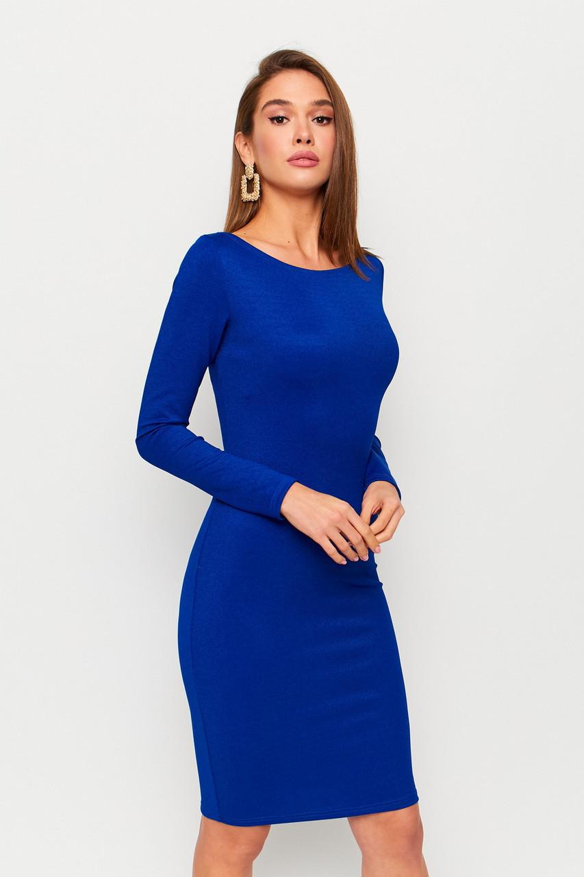 S, L   Витончене вечірнє плаття Lusy, синій