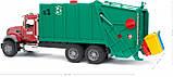 Bruder Игрушка машинка мусоровоз Mack Granite, 02812, фото 2