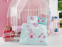 Постільна білизна в дитячу ліжечко 100*150 Ranforce (TM Aran Clasy) Little Princess, Туреччина, фото 1
