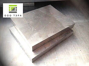 Куски алюминиевого листа 52 мм Д16