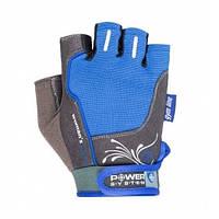 Перчатки для фитнеса и тяжелой атлетики Power System Womans Power PS-2570 Blue XL SKL24-145683
