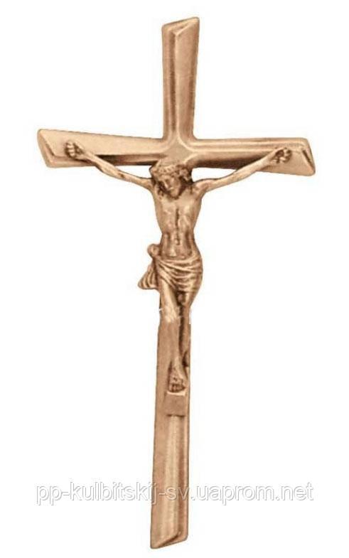 Хрест з розп'яттям для памятника з граніту Lorenzi 2082 \40
