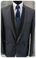 Мужской костюм тройка West-Fashion модель 1083