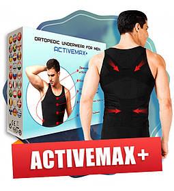 Мужское ортопедическое белье ActiveMax+корректирующая майка