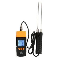 Електронний вологомір деревини, виносний щуп (28 порід, 4 типу) BENETECH GM620