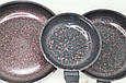 Сковорода с антипригарным мраморным покрытием 24 см, фото 6