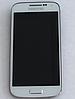Оригинальный дисплей (модуль) + сенсор с рамкой для Samsung Galaxy S4 Mini i9190 i9192 i9195 i9198 (белый)