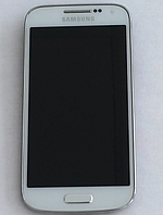 Оригинальный дисплей (модуль) + сенсор с рамкой для Samsung Galaxy S4 Mini i9190 i9192 i9195 i9198 (белый), фото 1