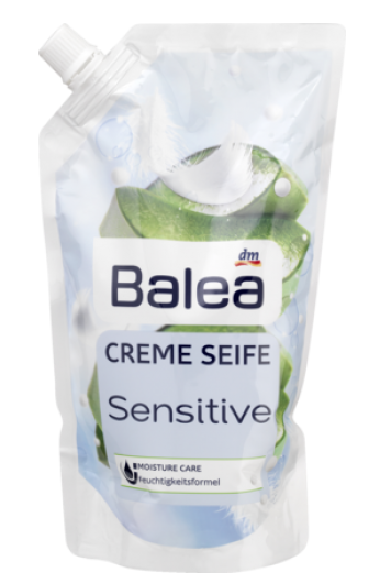 Мыло жидкое Balea  Cremesseife Sensitive 500 мл