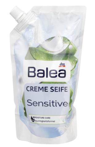 Мыло жидкое Balea  Cremesseife Sensitive 500 мл, фото 2