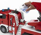 Bruder Игрушка большая пожарная машина SCANIA R-series с лестницей, 03590, фото 3