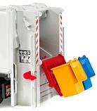 Bruder Игрушка машинка мусоровоз MAN TGS оранжевый, 03762, фото 2
