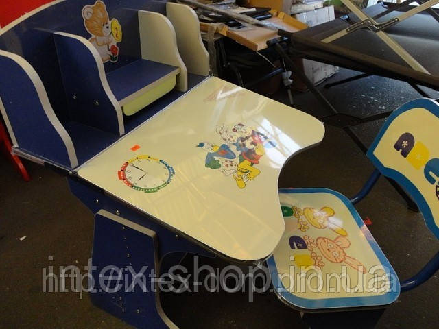 Дитяча парта зі стільчиком трансформер-60304 (ПРОТО ТИП 2881). київ