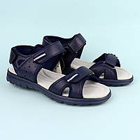 Босоножки сандалии на мальчика подростка Синие тм Томм р.36,37,38,40, фото 1