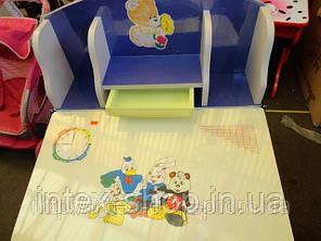 Детская парта со стульчиком трансформер-60304 (ПРОТО ТИП 2881). киев, фото 2