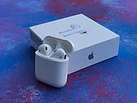Беспроводные наушники Apple AirPods 2 /аирподс два/блютус наушникики/люксовая копия/гарнитура