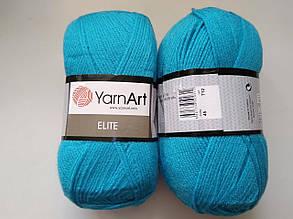 Пряжа Элит (Elite) Yarn Art, цвет бирюзовый 45