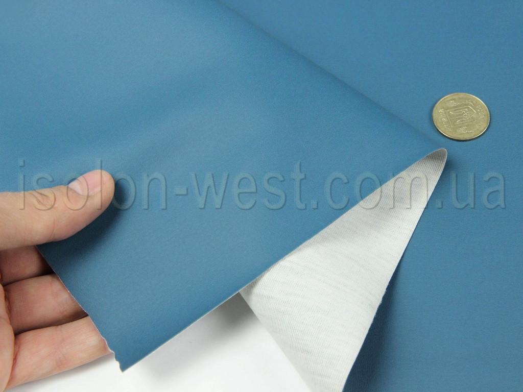 Биэластик (голубая лагуна) гладкий тягучий (bl-11) для перетяжки дверных карт, стоек,  шир 1,46м