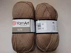 Пряжа Элит (Elite) Yarn Art, цвет бежевый 218