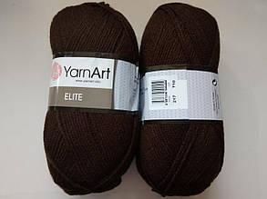 Пряжа Элит (Elite) Yarn Art, цвет коричневый 217