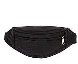 Универсальные сумки-бананки на пояс на 2отд. (ПРИНТ)13*28см, фото 2