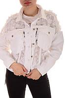Женские джинсовые куртки оптом Jean Louise Francosie (20301) лот 2шт по 26Є, фото 1