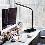 Светодиодный настольный светильник Feron DE1732 6W 3000K-4000K-6000K Черный, фото 6