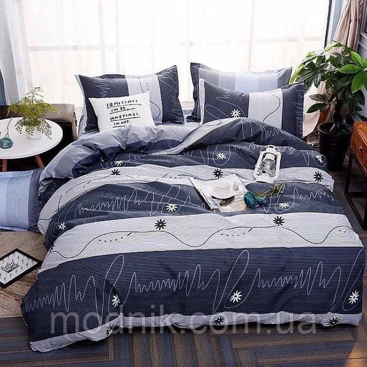 Комплект семейного постельного белья - Кардиограмма