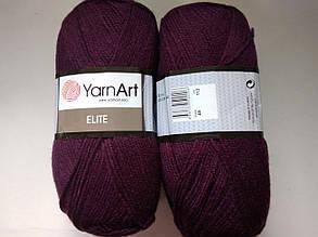 Пряжа Элит (Elite) Yarn Art, цвет фиолетовый 49