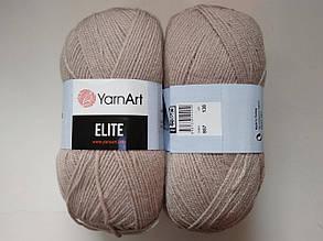 Пряжа Элит (Elite) Yarn Art, цвет бежевый 857