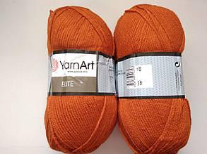 Пряжа Элит (Elite) Yarn Art, цвет оранжевый 847