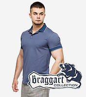 Тенниска Braggart мужская в цвете джинс tez6093 джинс