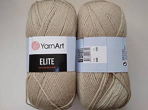 Пряжа Элит (Elite) Yarn Art, цвет бежевый 848